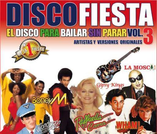 DISCO FIESTA - EL DISCO PARA BAILAR SIN PARAR VOL.3 (CON496CD)