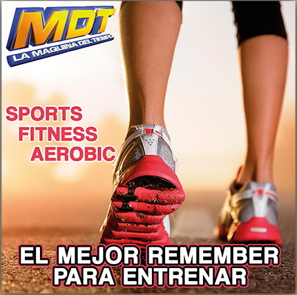 SPORTS FITNESS AEROBIC - EL MEJOR REMEMBER PARA ENTRENAR (CON526CD)